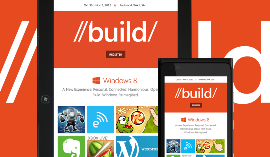 build windows responsive website